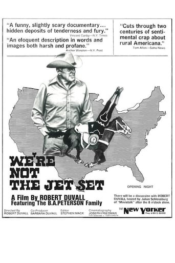 We're Not the Jet Set