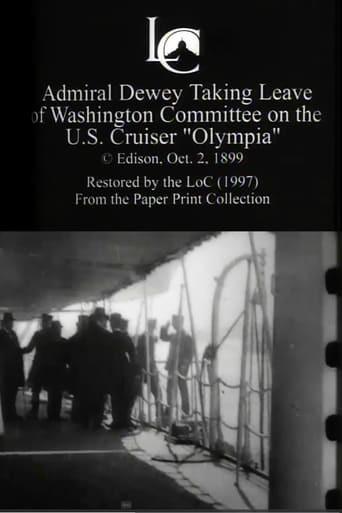 Admiral Dewey Taking Leave of Washington Committee on the U.S. Cruiser 'Olympia'