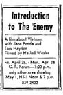 Introduction to the Enemy
